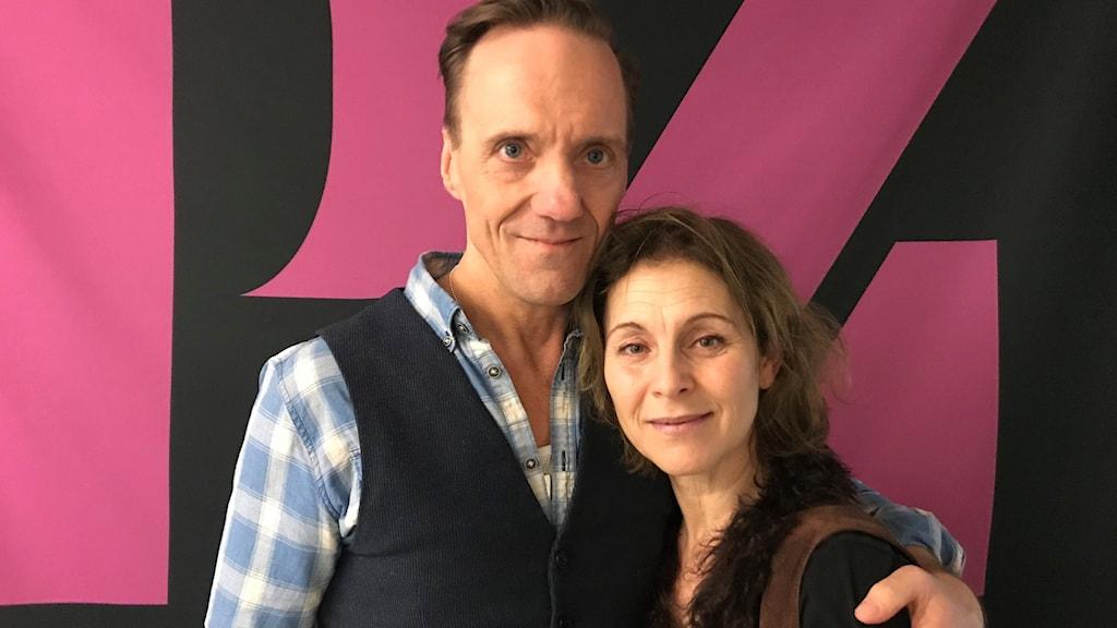 Helen Sjöholm och Rolf Lydahl.