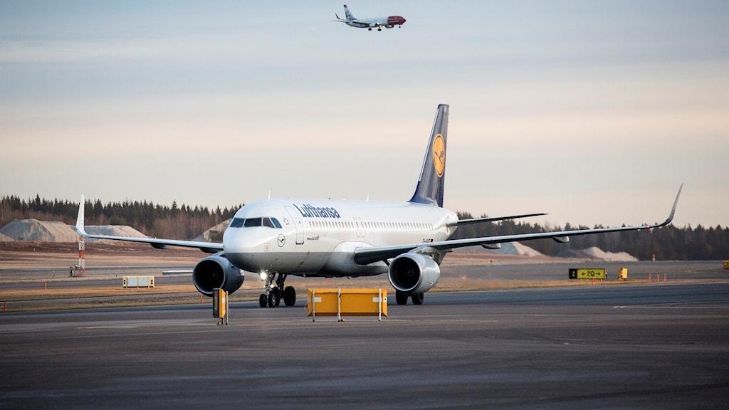 Flygplan på Arlanda. Foto: Christine Olsson/TT.
