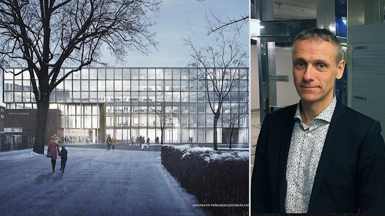 Carl Ljunggren om utbyggnaden av Stadshuset