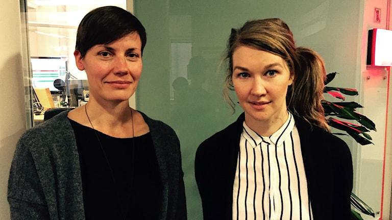 Mervi Junkkonen och Ida Lindgren