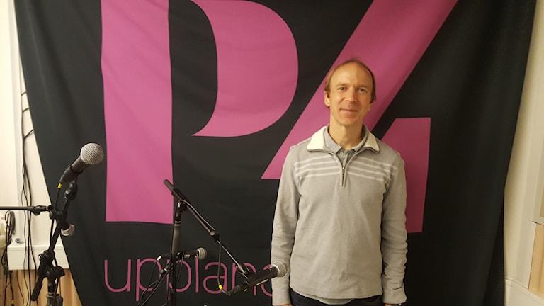 Fritjof Fagerlund, ultralöpare. Foto: Mattias Persson/Sveriges Radio