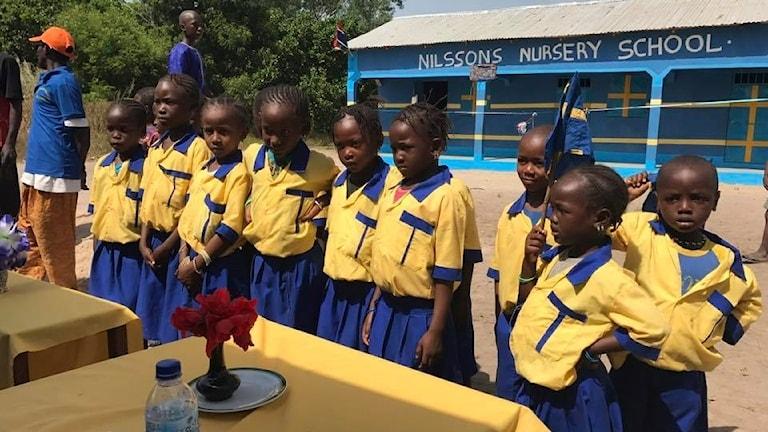Skola i Gambia