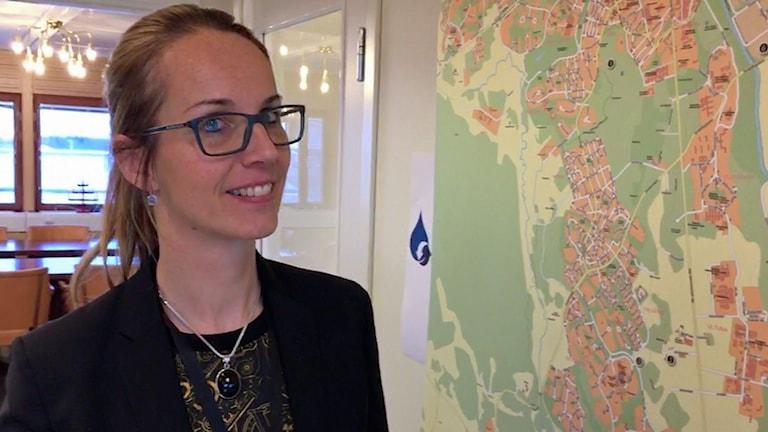 Sigrid de Geyter, VD Uppsala vatten.