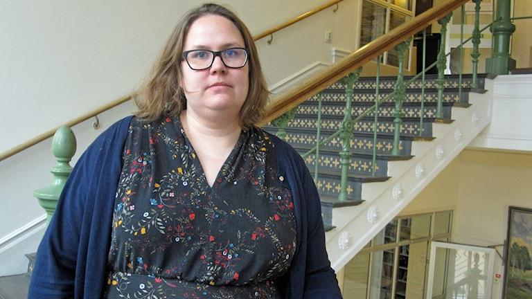 Veronika Lönner, lärare på Linnégymnasiet i Uppsala.