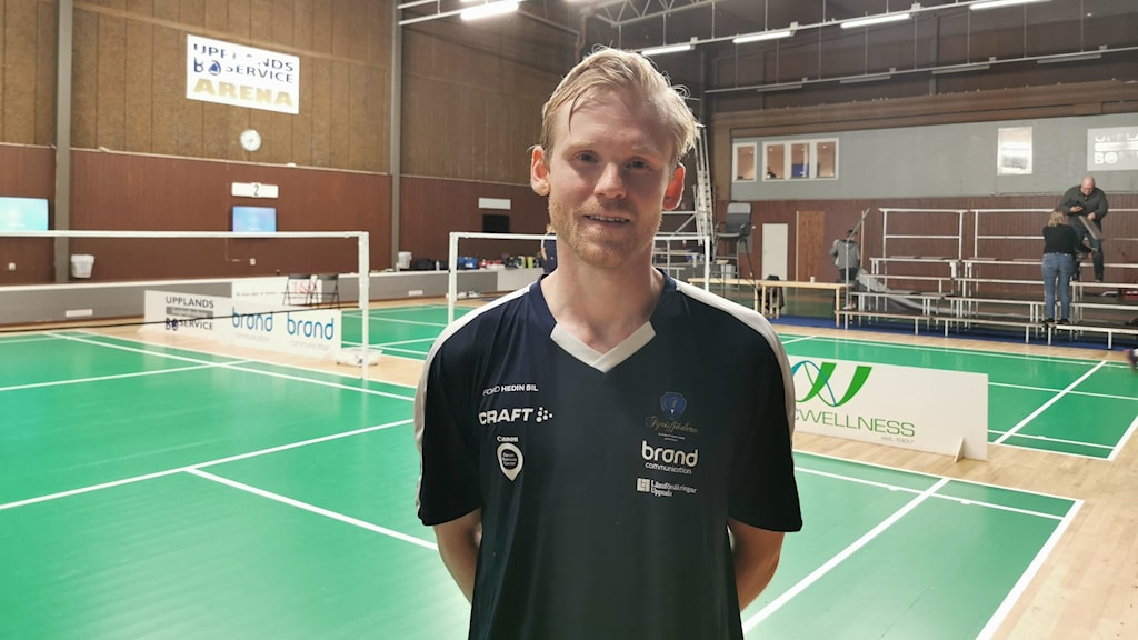 Albin Hjelm, Fyrisfjädern badminton