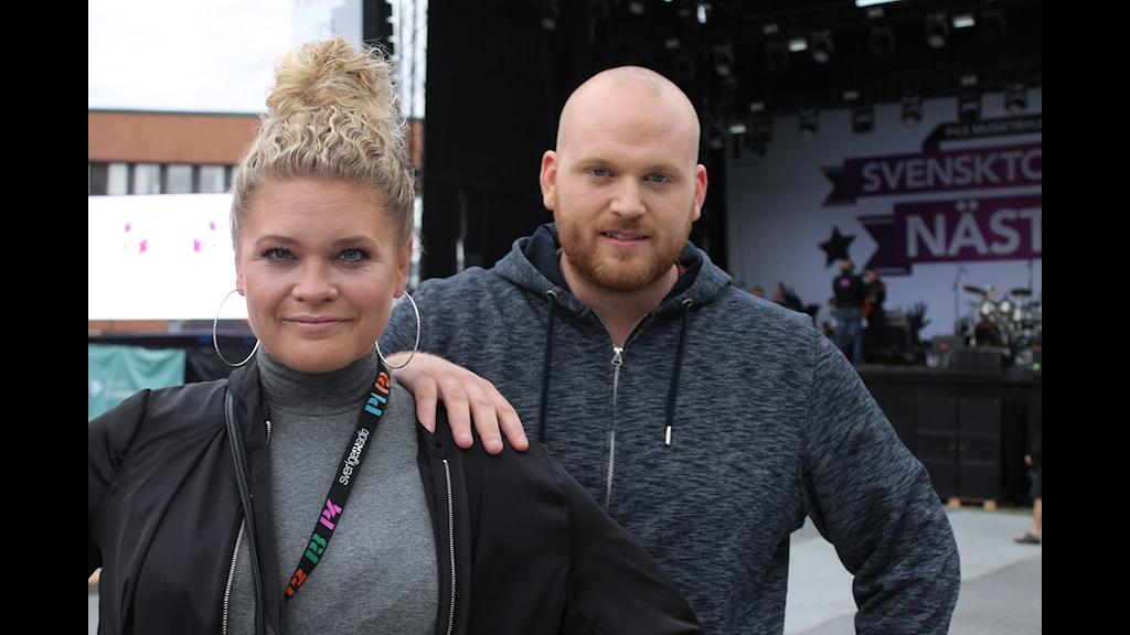 LiRiC laddade att ta hem segern i Svensktoppen Nästa 2016. Foto: Mattias Persson/Sveriges Radio