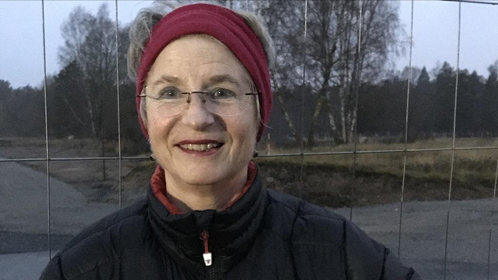 Monica Killander, sekreterare i föreningen Rudbeckia