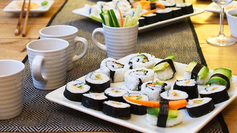 Christinas hemmagjorda sushi