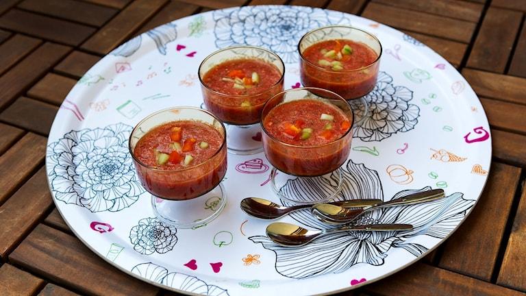 Vattenmelongazpacho