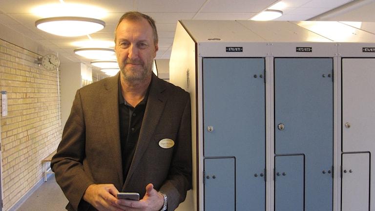 Jörgen Norman, rektor på Celsiusskolan.