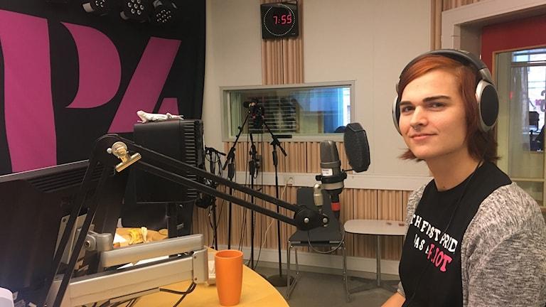 Saga Karlsson är ordförande i RFSL i Uppsala.