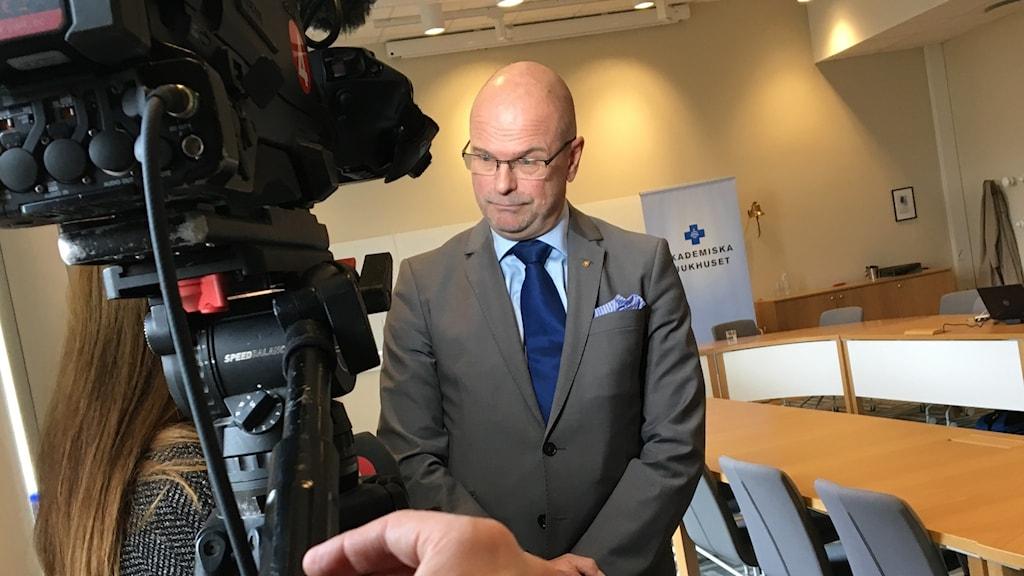 Erik Weiman (M), ordförande i regionfullmäktige.