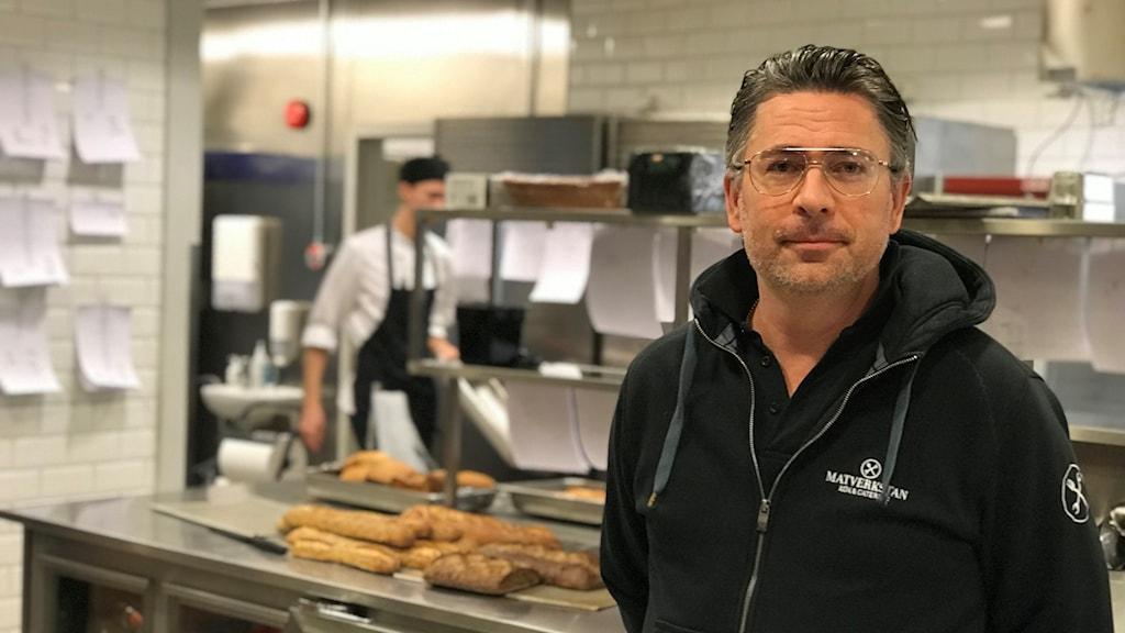 Christian Bonthron kock och ägare till Matverkstan i Uppsala
