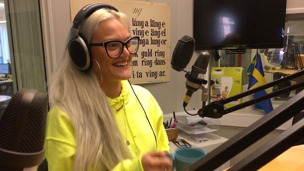 Lisa Anckarman från Uppsala.