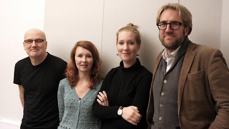 Kent Wennman, Ellinor Skagegård, Linda Brandemark & Peter Gustafsson