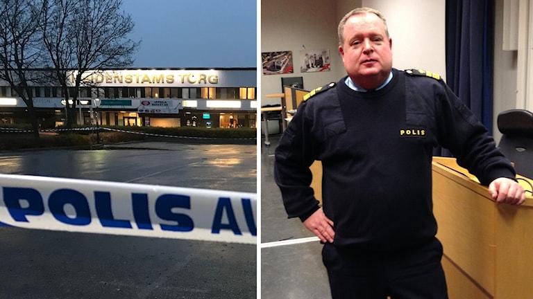 Per Halldén är polisomårrdeschef i Uppsala län-