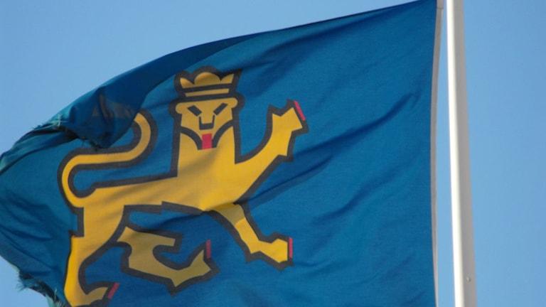 Uppsala kommuns flagga