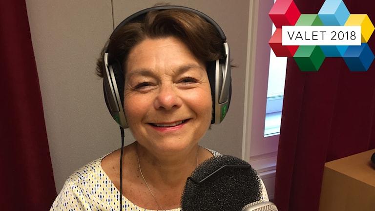 Solveig Zander är förstanamn i riksdagsvalet för Centerpartiet i Uppsala län.