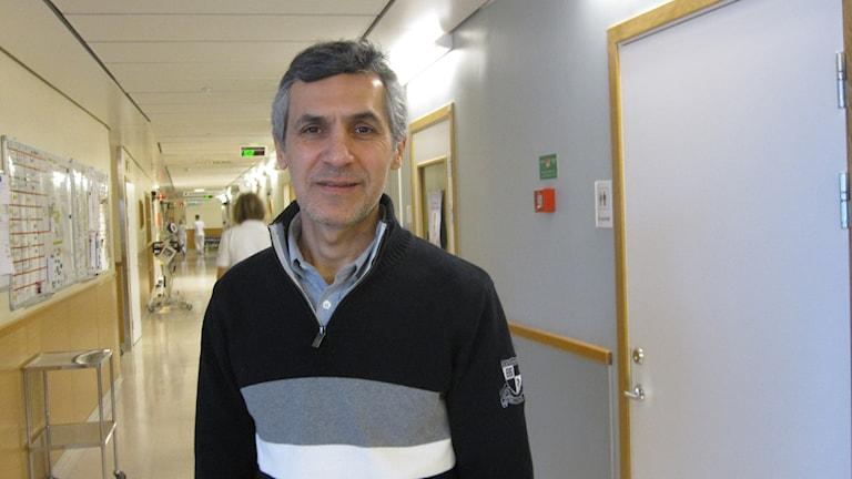 Rafael Kawati, sektionschef på Akademiska sjukhuset i Uppsala.