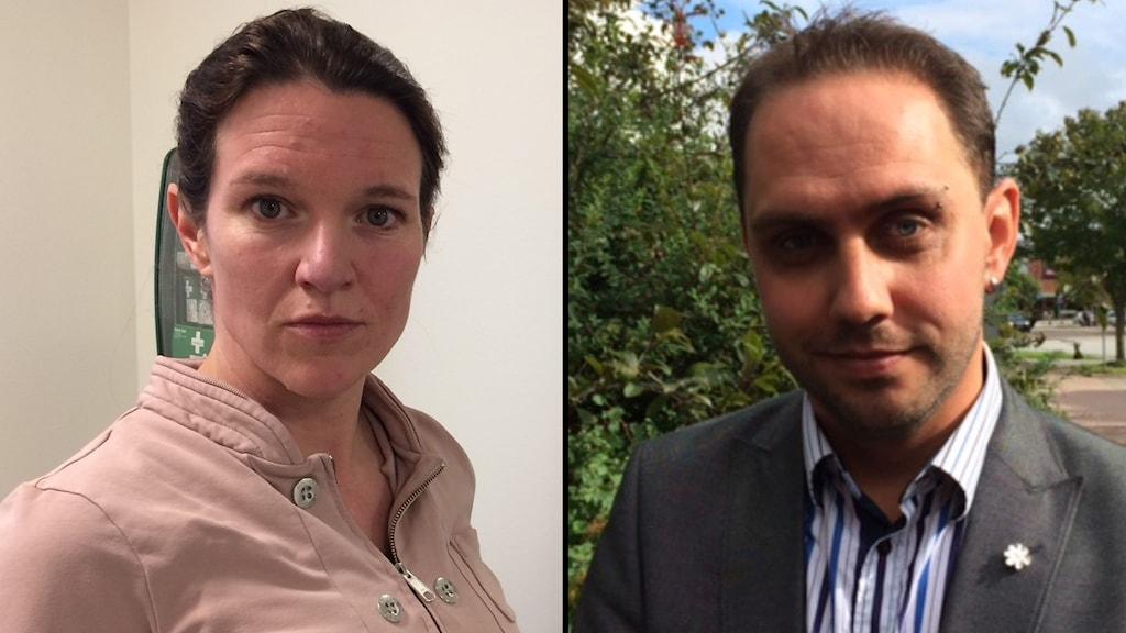 Lina Nordquist (L) och Mikael Rubbestad (SD) är nyblivna riksdagledmöter.