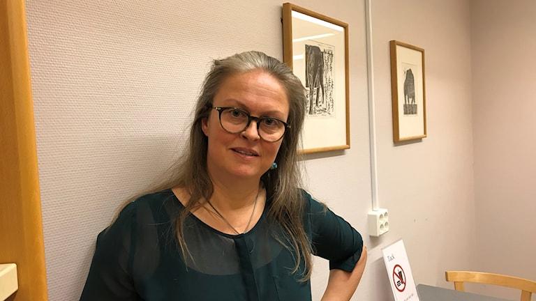 Åse Richard, doktorand vid institutionen för bostads- och urbanforskning vid Uppsala universitet och engagerad i föreningen Kulturparken.