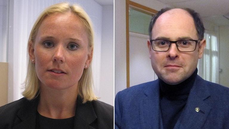 Hoffstedt (S) ifrågasätter Lagerqvist (M) om hur skattesänkningar ska kunna hjälpa lärarnas situation.