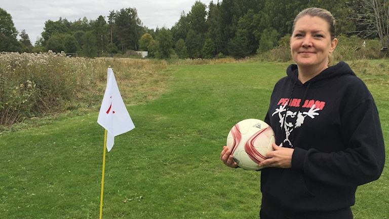 Fotbollsgolfaren Pernilla Nordgren