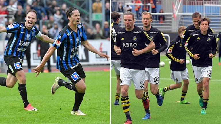 Fotbollsspelare i Sirius och AIK.