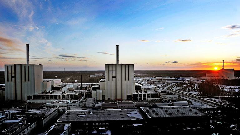 Forsmarks kärnkraftverk.