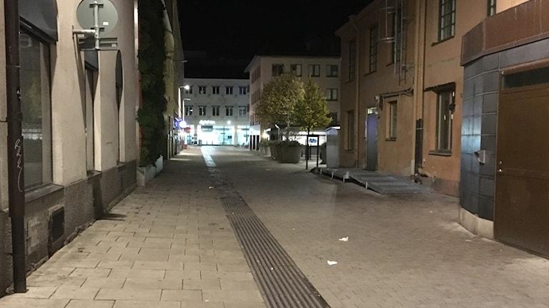 Påvel snickares gränd, Uppsala.