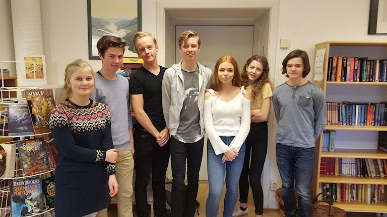 Uppsala Musikklass årskurs åtta.