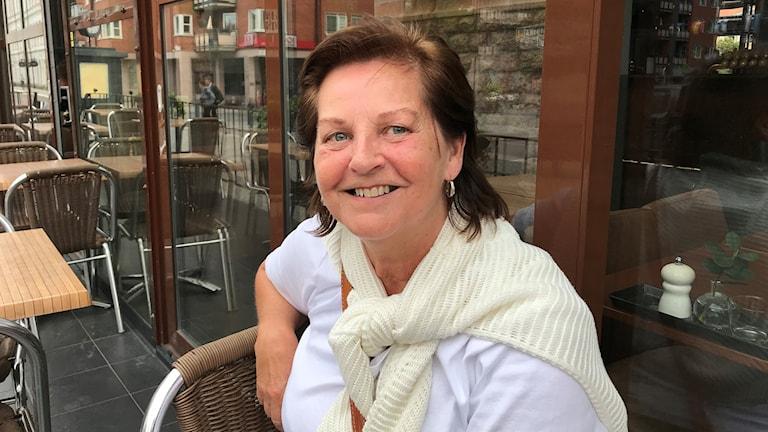 """Yvonne Kingbrandt, författare till boken """"Jag och min Alzheimer""""."""