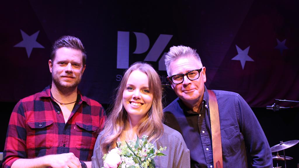 Frida Braxell med band vann P4 Nästa 2019 i Uppland