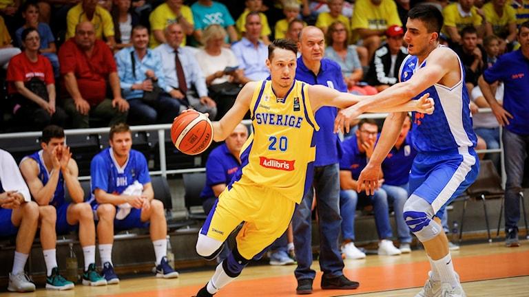 Basketspelaren Marcus Eriksson