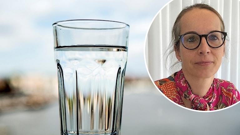 Vatten och Sigrid De Geyter VD Uppsala Vatten