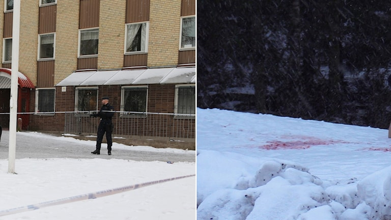 Mordförsök i stadsdelen Gottsunda i Uppsala.