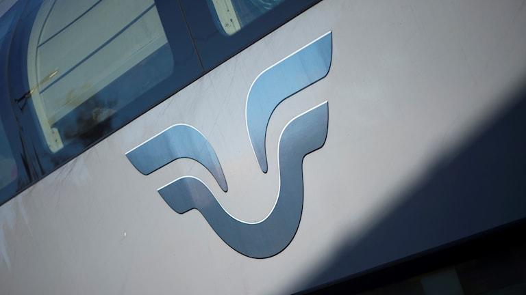 SJ-logotyp. Genrebild.