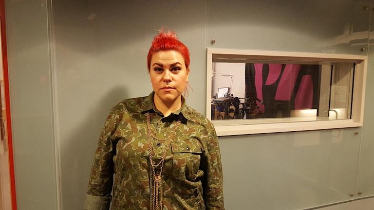 "Karin ""Kajjan"" Andersson. Foto: Mattias Persson/Sveriges Radio"