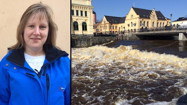 Zahrah Lifvendahl / Fyrisån i Uppsala