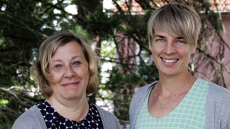 Susanne Asp och Maria Björkström.