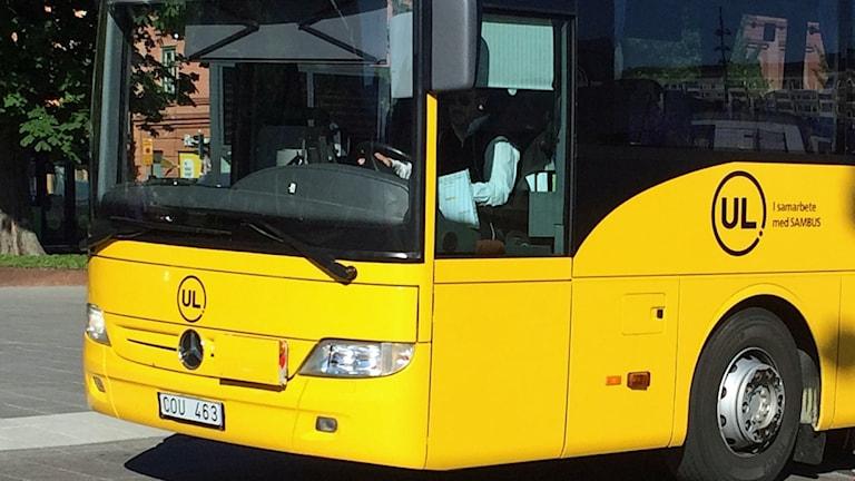 En av UL:s regionbussar (arkivbild).