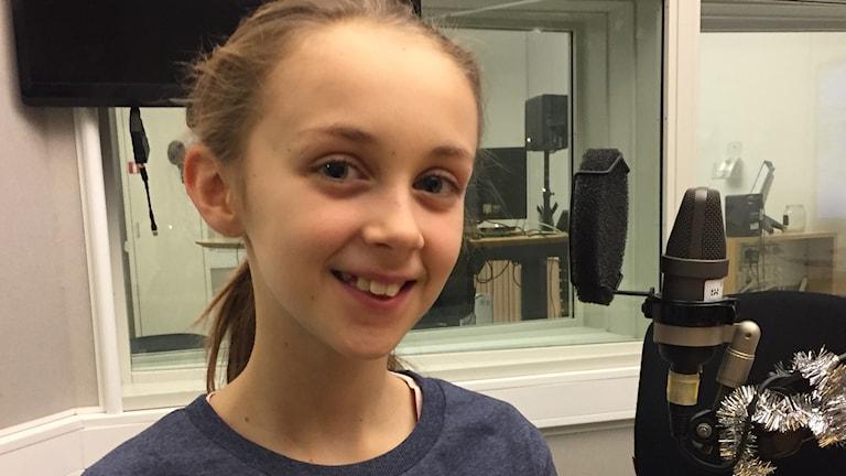 Tioåriga Maya Runhagen från Uppsala, föreläsare mot kränkningar och grupptryck