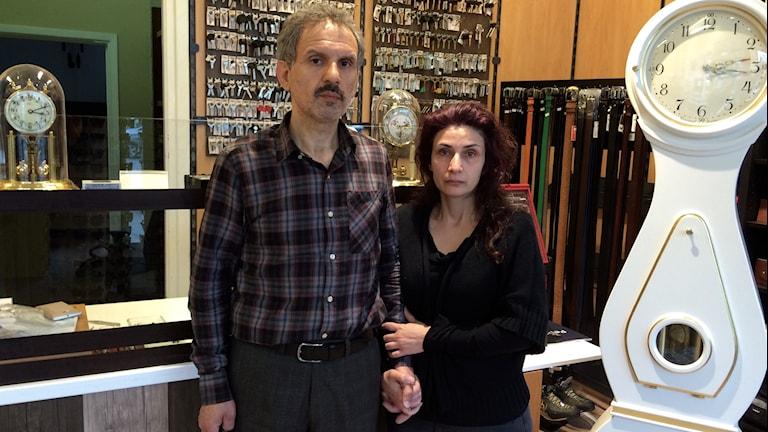 Mehdi och Shahla Ahmadi