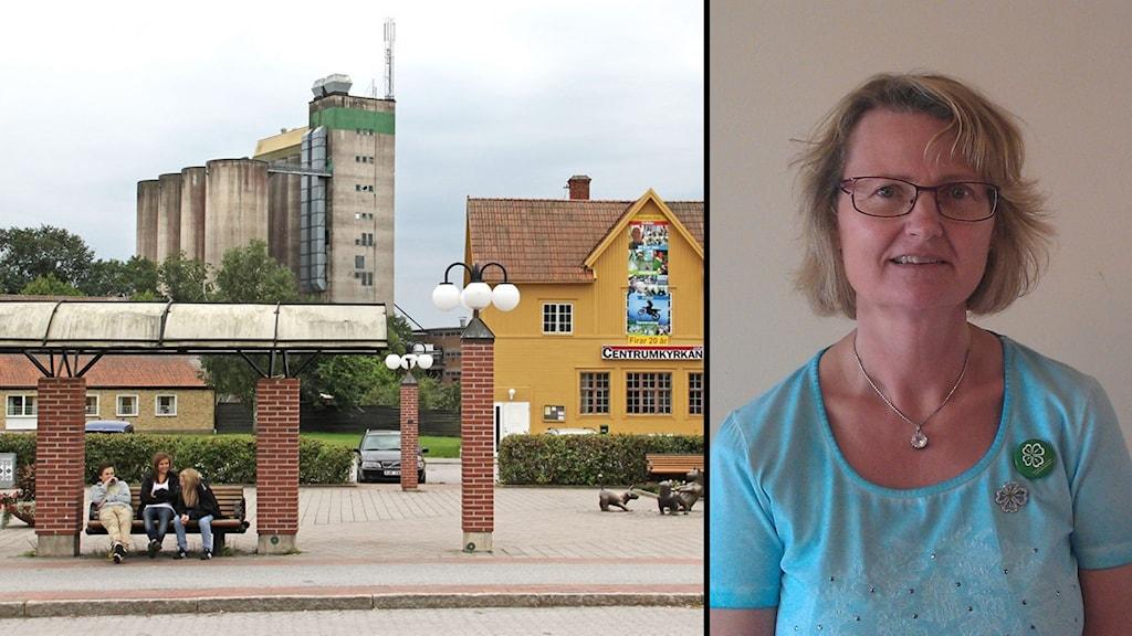 Centerpartiets Marie Willén i Heby kommun