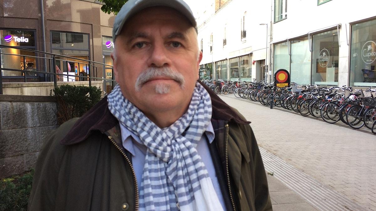 Sven-Erik Svensson, vd på Studentbokhandeln.