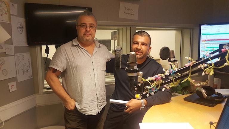Hawraz Saleh och Ali Amin.