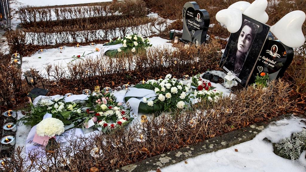 I dag kommer Fadime Sahindal att hedras med musik, tal och kransnedläggning vid graven på Gamla kyrkogården i Uppsala (arkivbild).