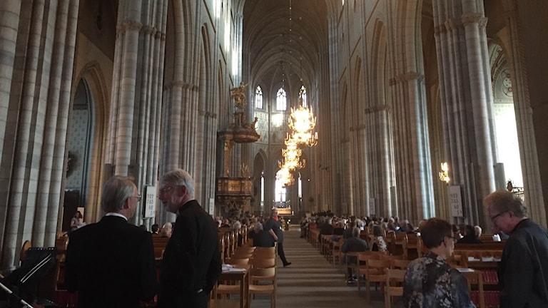 Uppsala stift har god ekonomi trots att de tappat medlemmar de senaste åren.