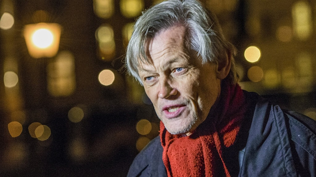 Närbild på Göran Lambertz.