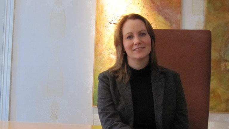 Advokat Nina Tiberg i Uppsala.